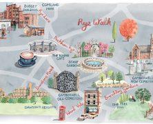 Illustrated Maps of Peckham