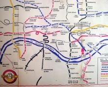 Blunderground Map of London