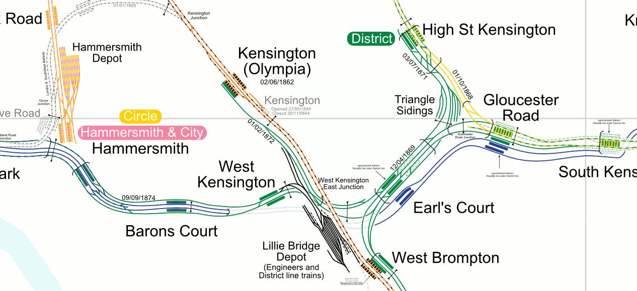 The London Underground Network in Detail