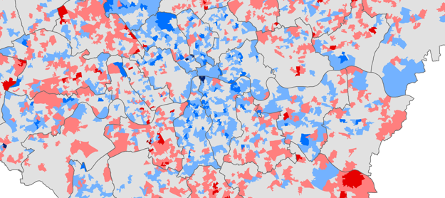 Changing Deprivation in London