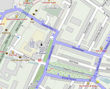 The OpenStreetMap of London