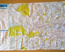 The Crumpled Map of London