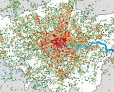 Tweets in London