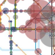 TubeViz – Tube Station Passenger Footfall