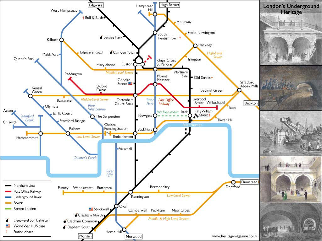 Mapping London's Underground Rivers