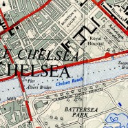 Classic Ordnance-Survey 1:25000 Map of London