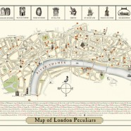 A New Map of London Peculiars