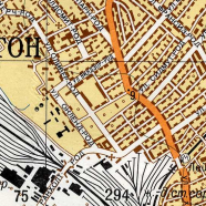 Soviet Military Maps of London