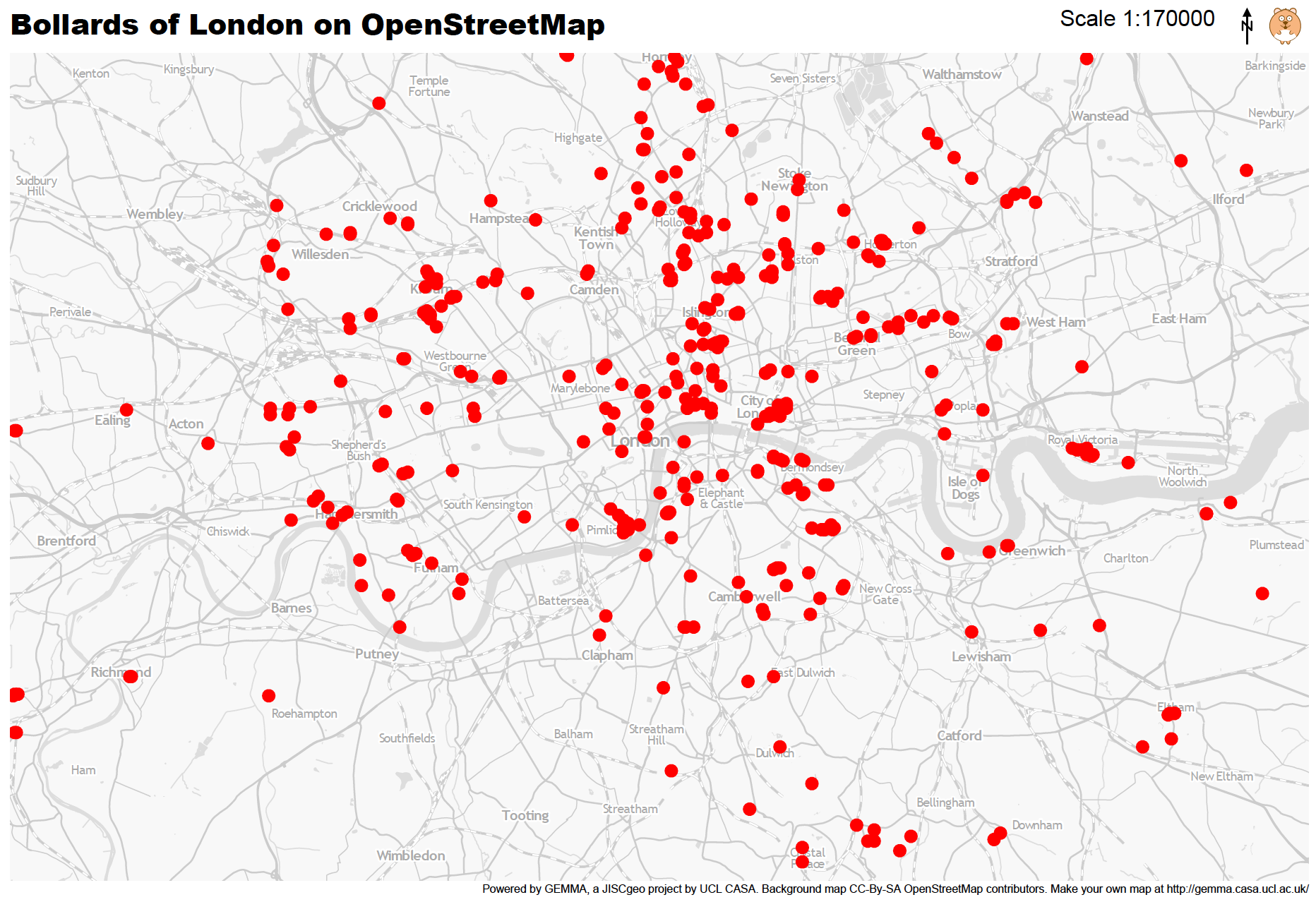 Mapping London Life