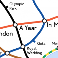 London: A Year in Maps