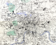 UCL Hand Drawn Map of London