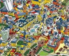 Arty Globe: A Quirky View of London