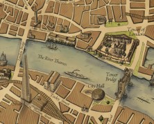 Grand Map of London: A New Map in an Old Style