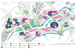 The Olympic Park - New Names, New Map