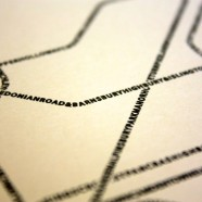 Typographic Tube Map