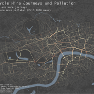 London Cycle Hire and Pollution