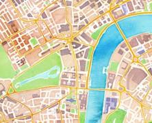 Stamen Design's Watercolour Map