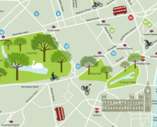 Green London Map
