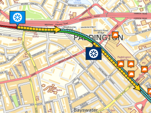 Crossrail's Live Tunnel Boring Machine Map