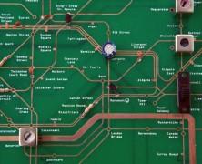 Tube Map Circuit Board – Working Radio