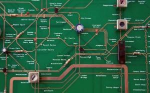 Tube Map Circuit Board - Working Radio