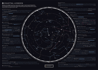 A Celestial Map | Mapping London on