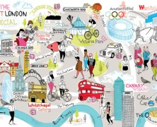 Simplified Map Of London.Mapping London