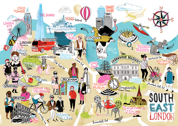 The Mapping London Christmas List 2013 – Tourist Map Of London