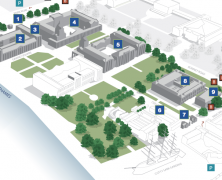 University Campus Maps