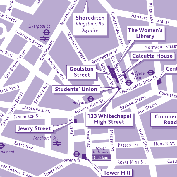 University Campus Maps Mapping London