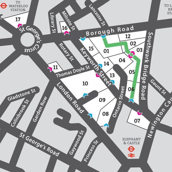 campus_lsbu london south bank universitys map is simple