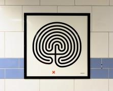Art on the Underground: Labyrinth