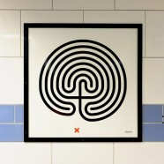 Art on the Underground: Labyrinth