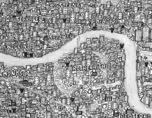 Stephen Walter's Hub Map of London