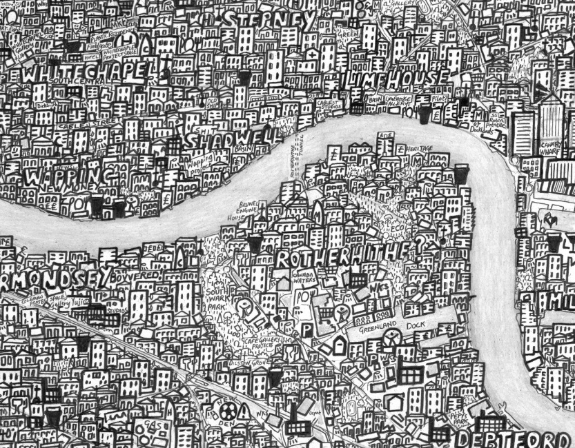 Stephen Walter's Hub Map of London