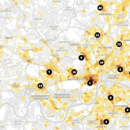 Violent Crime Hotspots in London