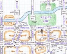 "Simplifying London's Network – ""Mappi Lundi"", A Hand Drawn Map"