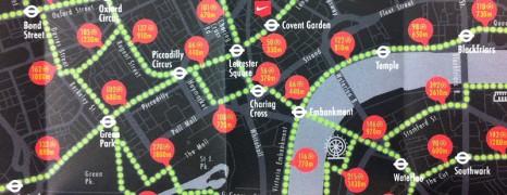 NikeFuel Map