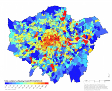 Districts Of London Map.Data Mapping London