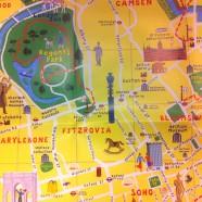 The Adventure Walks London Map