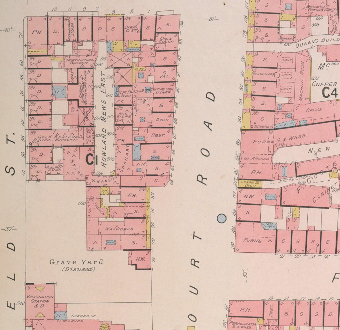 Fire Insurance Maps of London