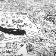 City of Westminster – A Hand-Drawn Map Print