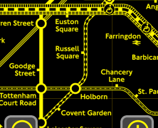 Colourblind Tube Map