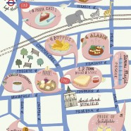 A Food Tour Map for East London