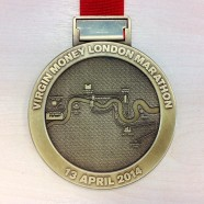 The London Marathon Medal