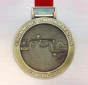 The London Marathon Medal