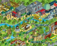 Theme Park Maps!