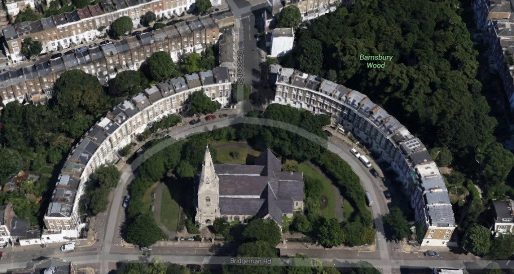Google's 3D Maps of London