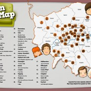 The London Sitcom Map
