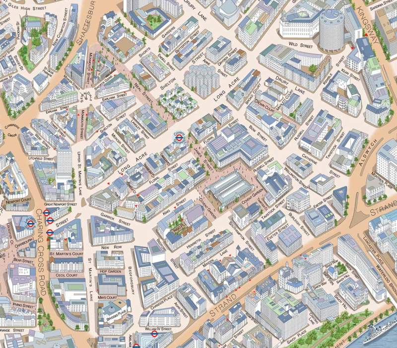 Covent Garden Map Covent Garden | Mapping London Covent Garden Map